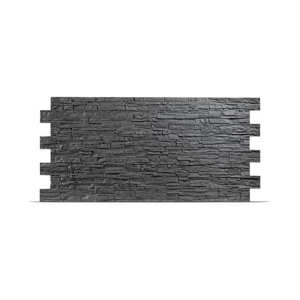 Plaquette de parement en polyuréthane UltraSize XXL - Colorado anthracite