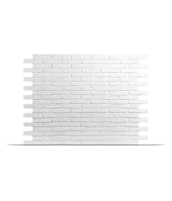 Rebel of Styles Plaquette de parement en polyuréthane UltraSize XXL - Klimex Milano Blanc