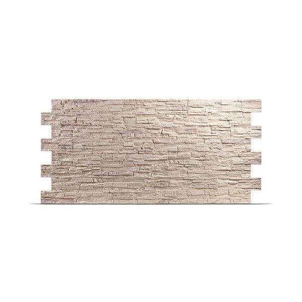Plaquette de parement UltraSize XXL en polyuréthane - Colorado Sahara creme