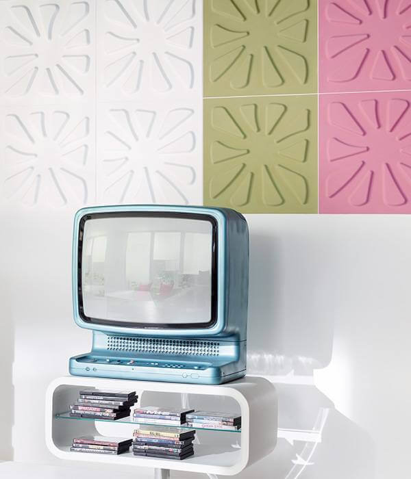 Rebel of Styles 3D wallpanel | PELLE