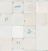Studio Ditte Papier Peint antique style Carreaux de Delft