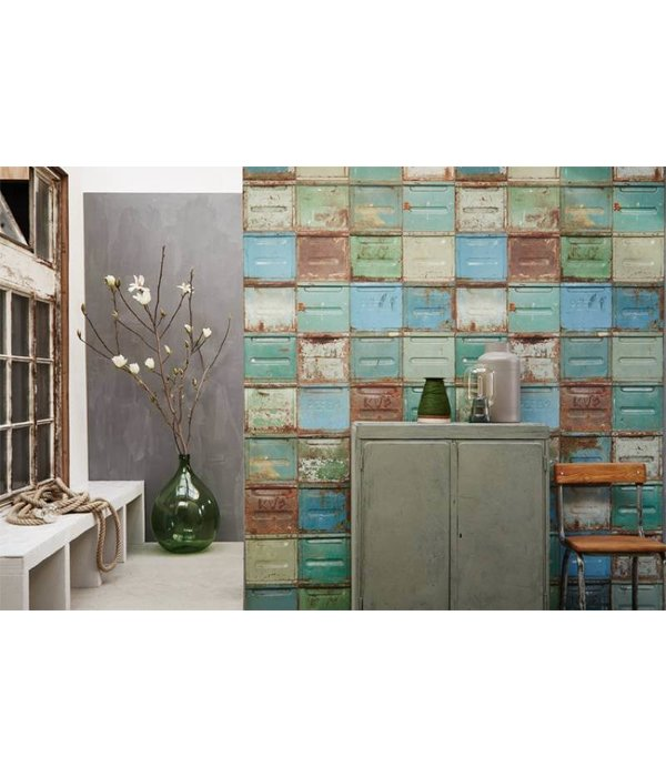 Studio Ditte Container wallpaper mixed