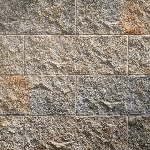 Klimex Ultrastrong Campana Grey Stone Effect Porcelain Wall & Floor Tile