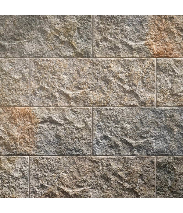 Klimex Ultrastrong Campana Grey Stone Effect Porcelain Wall & Floor Tile