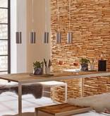 Rebel of Styles 3D wood panel UltraWood Teak Toscani
