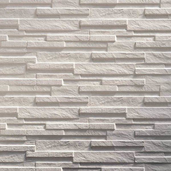 Ultrastrong Avella White Stone Effect Porcelain Wall & Floor Tile