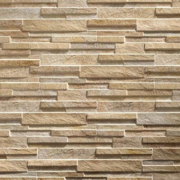 Ultrastrong Avella Creme Stone Effect Porcelain Wall Tile