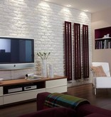 Klimex Ultrastrong Milano White Stone Effect Porcelain Wall Tile