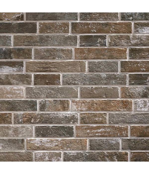Klimex Ultrastrong Klimex Milano Anthracite Stone Effect Porcelain Wall & Floor Tile