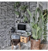 Klimex Ultrastrong Milano Anthracite Stone Effect Porcelain Wall Tile