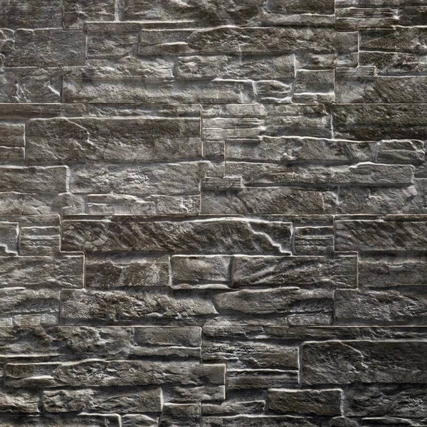 Ultrastrong Colorado Anthracite Stone Effect Porcelain Wall & Floor Tile