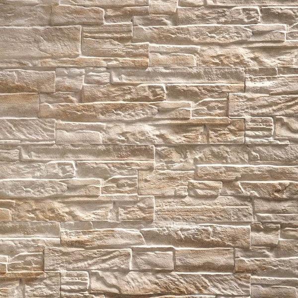 Ultrastrong Colorado Creme Stone Effect Porcelain Wall & Floor Tile