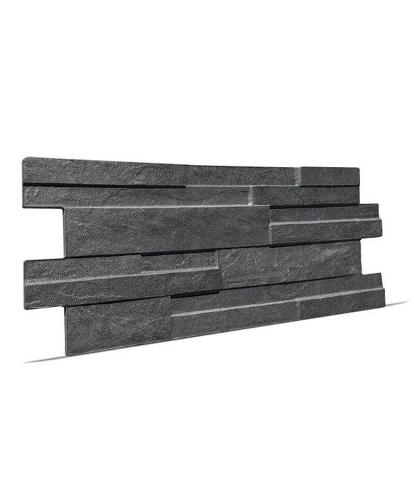 Klimex Ultrastrong Avella Anthracite Stone Effect Porcelain Wall & Floor Tile