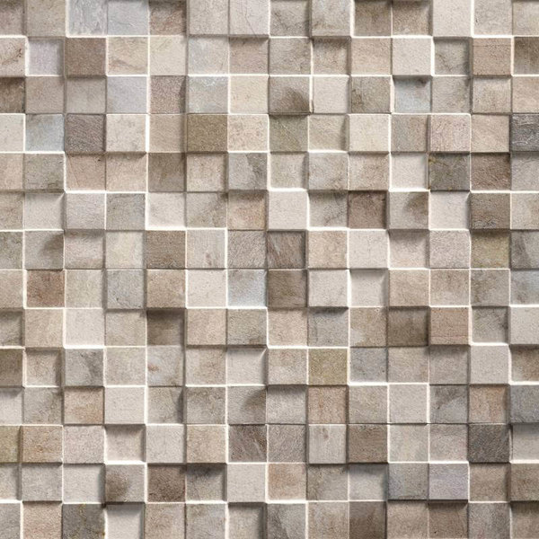 Carrelage mur UltraStrong Square Gris