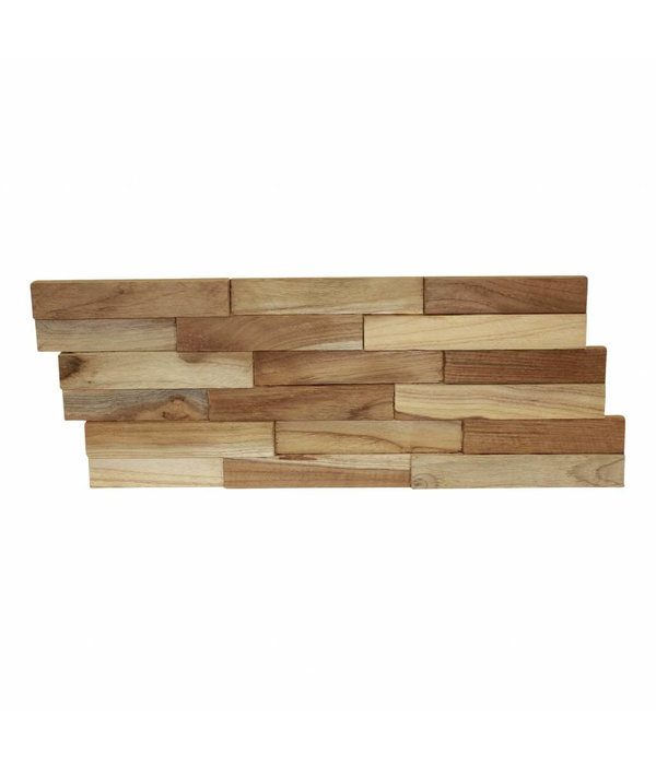 Rebel of Styles Holzverblender 3D Wood Panel Fine CN-kein FSC !