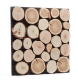 Rebel of Styles Teak Wood panel 3D Ultrawood Firewood
