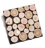 Rebel of Styles Houtstrip 3D Woodpanel Ultrawood Firewood