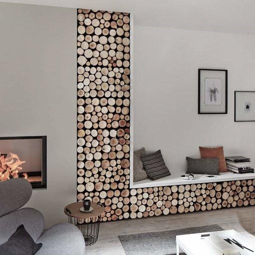 Rebel of Styles Teak Wood panel 3D Ultrawood Firewood