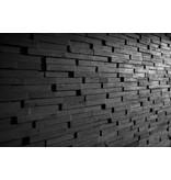 Rebel of Styles 3D wood panel UltraWood Teak Yakisugi