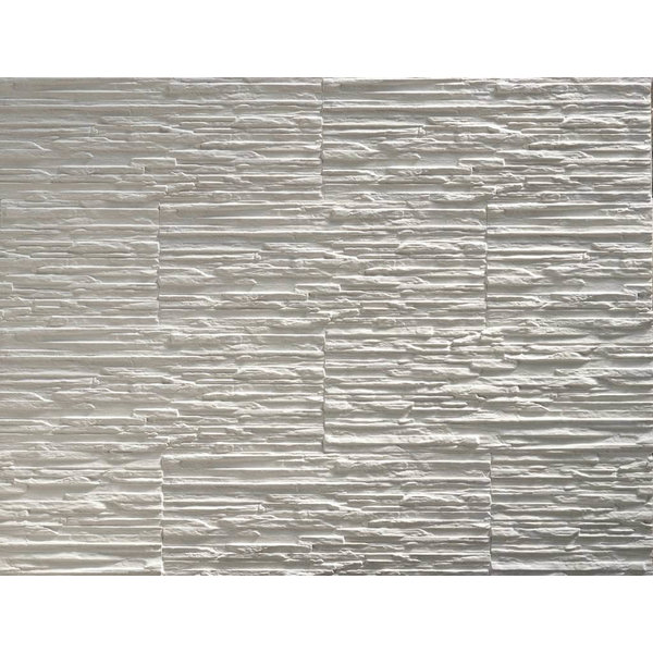 Gypsum stone veneer Klimex Toscani white