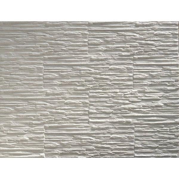 Plaquette de parement plâtre Toscani white