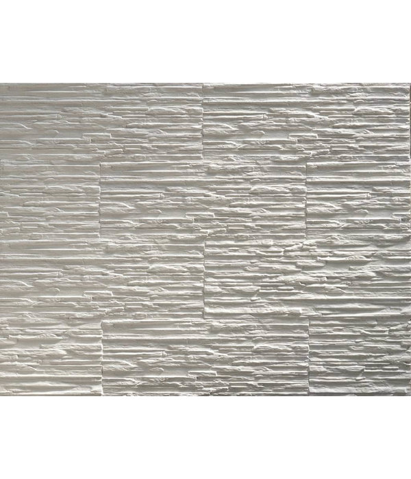 Klimex Gips steenstrip Klimex Toscani white