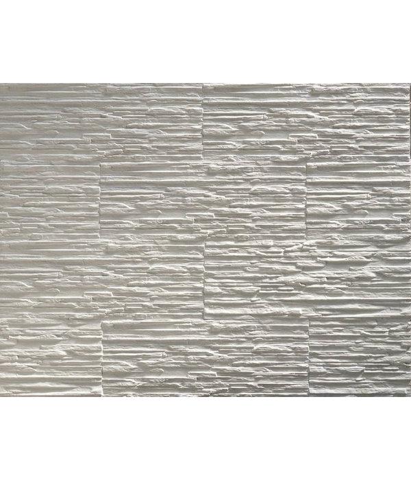 Klimex Gips steenstrip Toscani white