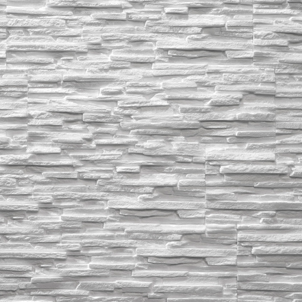 Tasso white sample panel 1 piece