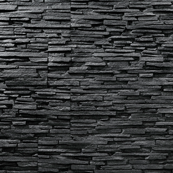Tasso black sample panel 1 piece