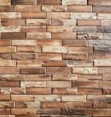 Klimex Ultrastrong Colorado Teak Stone Effect Porcelain Wall Tile