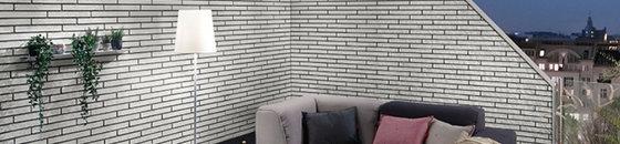 briques de parement élastiques