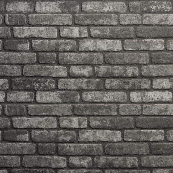 UltraLight Brick Loft Antraciet HD Coated