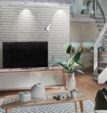 Rebel of Styles UltraLight Brick Loft White HD Coated