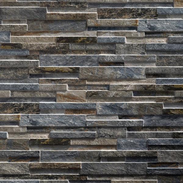 Ultrastrong Avella Black Stone Effect Porcelain Wall & Floor Tile