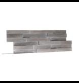 Rebel of Styles 3D wood panel UltraWood Teak Yakisugi Silver
