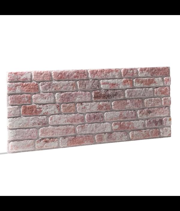 Rebel of Styles UltraLight Brick Loft Red White HD Coated