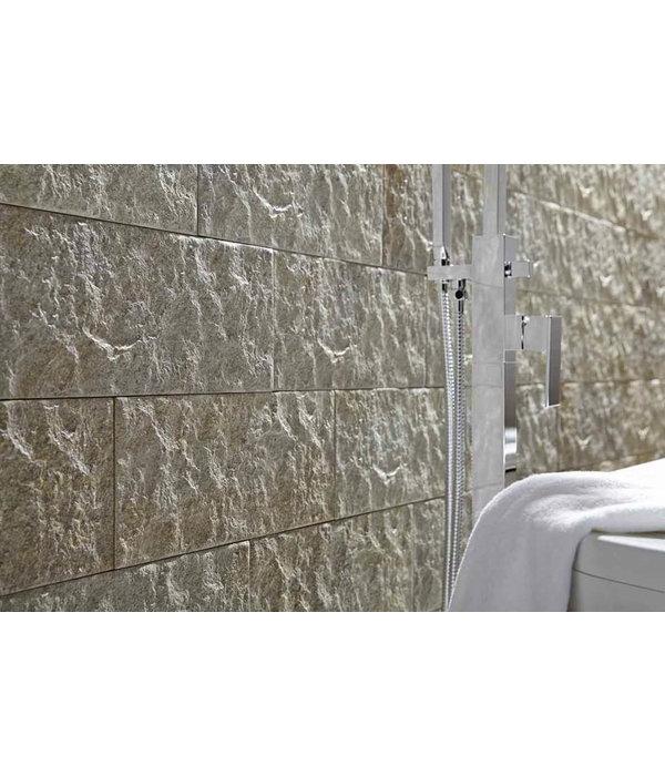 Klimex Ultrastrong Campana Creme Stone Effect Porcelain Wall & Floor Tile