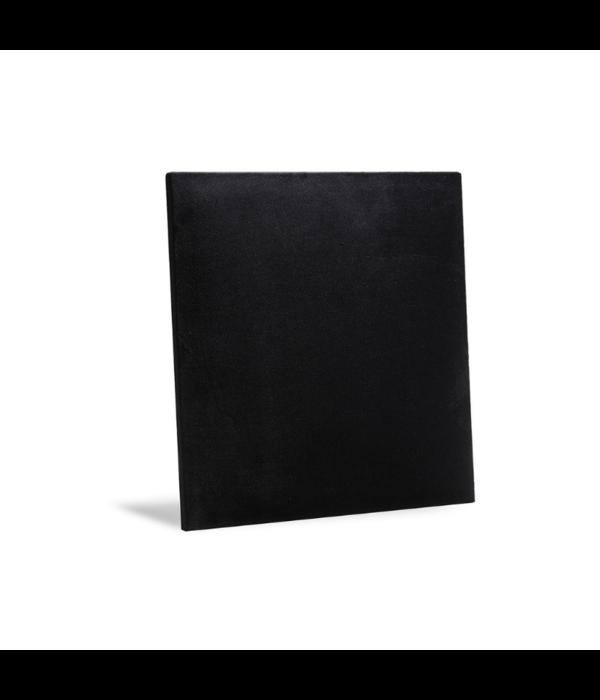 Rebel of Styles Rebel of Styles Luxury Texile Wallpannel black velvet