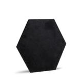 Rebel of Styles 3D Luxury Textile Hexagon - Zwart