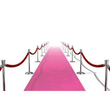 Roze Loper Actie 450x50cm
