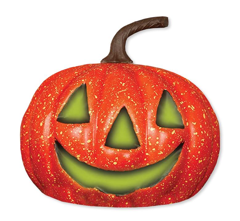 Pompoen Voor Halloween.Halloween Pompoen Met Licht 20cm