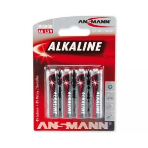 Ansmann 4x AA Batterij Alkaline