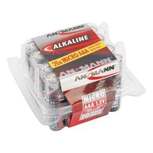Ansmann 20x AAA Alkaline Batterijen