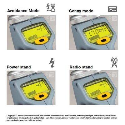 Radiodetection C.A.T4+ leidingzoeker met diepte indicatie