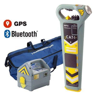 Radiodetection gC.A.T4+ leidingzoeker met GPS en diepte indicatie  SET