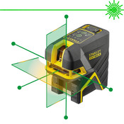 Stanley FATMAX® 5 Punt/Kruislijnlaser Groen