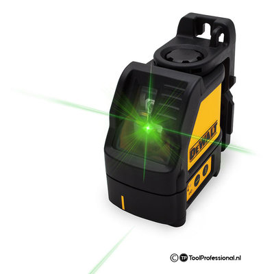 DeWalt DW088CG Kruislijnlaser Groen + DW099E Afstandmeter TSTAK Kit