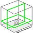 DeWalt DCE0811D1G-QW 2x360° Groene Kruislijnlaser