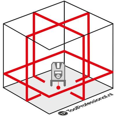 ADA 6D SERVOLINER Elektronische Kruislaser