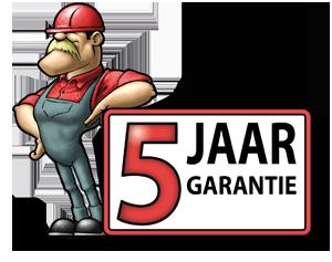5 jaar garantie toolprofessional.nl